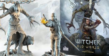 El juego de mesa <em>The Witcher: Old World</em> ya recaudó más de $3 MDD en Kickstarter
