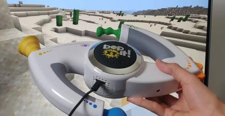 Convierten un Bop It! en un divertido control para jugar <em>Minecraft</em>