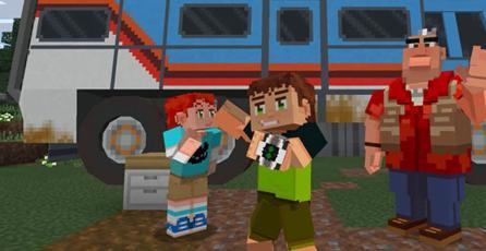 ¡Omnitrix activado! <em>Minecraft</em> recibió genial contenido de <em>Ben 10</em>