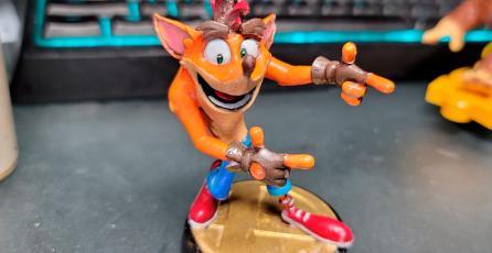 Fan crea su propio amiibo de <em>Crash Bandicoot</em> para <em>Super Smash Bros. Ultimate</em>