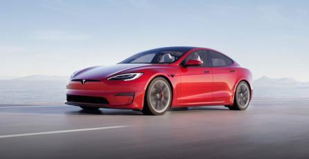 ¿Tesla ganará la guerra de consolas con uno de sus automóviles?
