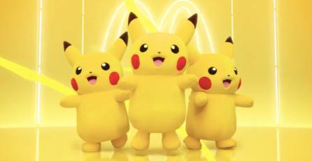<em>Pokémon</em> colaborará con McDonald's para ofrecer menús de Pikachu