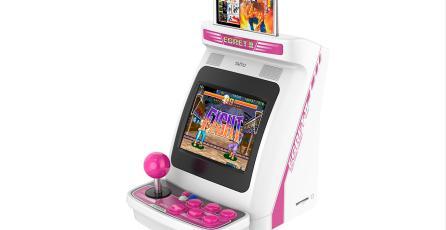 Presentan el Egret II Mini, una réplica de arcade en miniatura con varios juegos clásicos