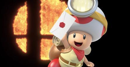 Nintendo responde a petición de un fan para añadir al Capitán Toad a <em>Smash Bros.</em>