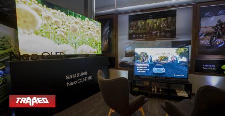 Samsung presenta su nueva línea de Smart TV 2021 con Neo QLED