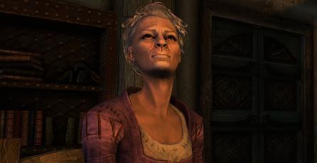 <em>Skyrim</em>: fan crea un mod que agrega a la abuelita Shirley Curry