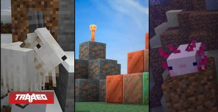 Ya está disponible la esperada actualización 1.17 de Caves and Cliffs para Minecraft