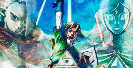 Nuevo vistazo a <em>Zelda Skyward Sword HD</em> nos muestra cómo funcionará el telescarabajo
