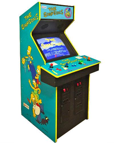 Así luce el clásico gabinete arcade