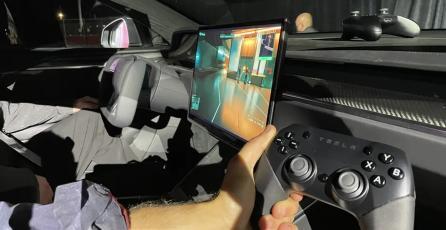 El nuevo auto de Tesla puede correr <em>Cyberpunk 2077</em> al mismo nivel que un PS5