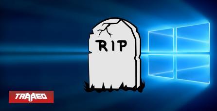 Microsoft dejará de prestar soporte a Windows 10 en octubre de 2025