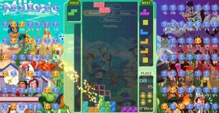 "Tetris 99 - Tráiler de Evento ""21st MAXIMUS CUP"""