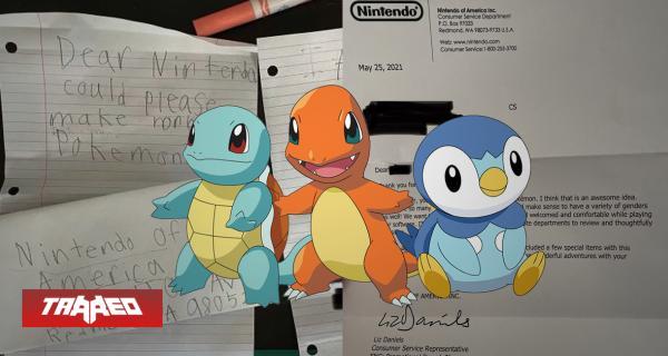 Niño le manda carta a Nintendo pidiendo que creen un Pokémon no binario y la compañía le responde
