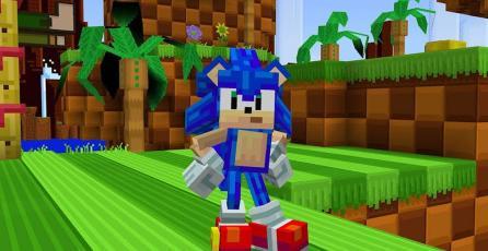 <em>Minecraft</em> celebra el 30.° aniversario de <em>Sonic</em> con una genial colaboración