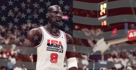 "NBA 2K21 - Tráiler ""Team USA"""