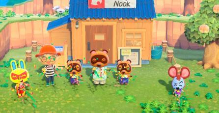Fan transforma el dock del Switch en un lugar conocido de <em>Animal Crossing: New Horizons</em>