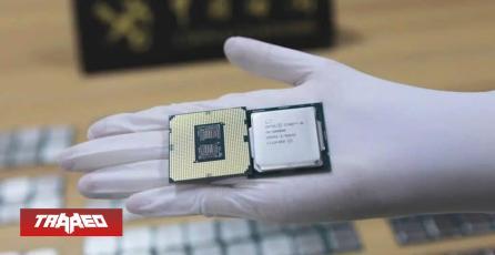 Hong Kong incauta más de 256 CPU: contrabandistas se las pegaron al cuerpo con alusa para pasar la frontera