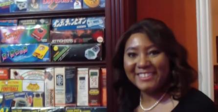 Mujer consigue 2 Récords Guinness por su enorme colección de juegos vintage
