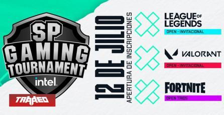 Vuelve SP Gaming Tournament con mas de 6 millones de pesos en premios en Valorant, League of Legends y Fortnite