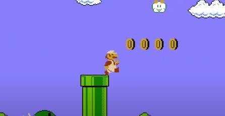 Jugador termina <em>Super Mario Bros.</em> en menos de 12 minutos y sin ver