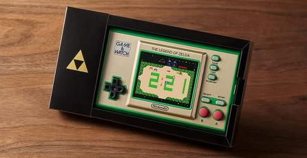 El Game & Watch de <em>The Legend of Zelda</em> ya se puede apartar en Amazon México; precio y detalles