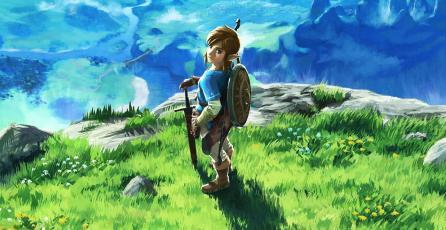 Este control para Switch con diseño de <em>Zelda: Breath of the Wild</em> te encantará