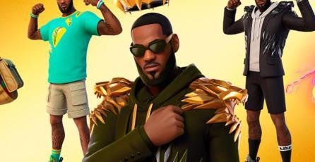 <em>Fortnite</em> y LeBron James celebrarán su colaboración con un restaurante de tacos