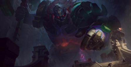 <em>League of Legends:</em> bug convierte a Sion en una torre gigante