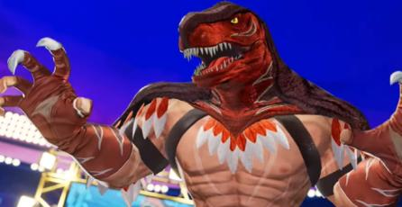 "KOF XV - Tráiler de Personaje ""King of Dinosaurs"""
