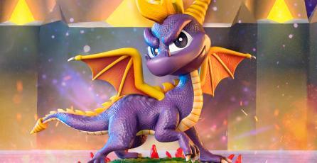 Estas increíbles figuras de Spyro the Dragon son más baratas de lo que esperarías