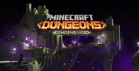 """Minecraft Dungeons - Tráiler Lanzamiento DLC """"Echoing Void"""""""