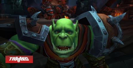 La nueva actualización de WoW: Burning Crusade ya no te permitirá escupir a los demás personajes