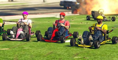 <em>GTA Online</em>: jugadores recrean y se divierten con carreras estilo <em>Mario Kart</em>