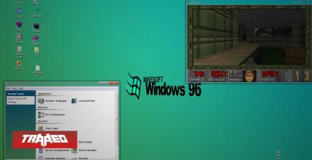 """Este simulador de """"Windows 96"""" se ejecuta en tu navegador y te da toda la nostalgia que estás buscando"""