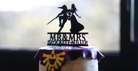 Fans realizan una impresionante boda con temática de <em>Zelda</em>