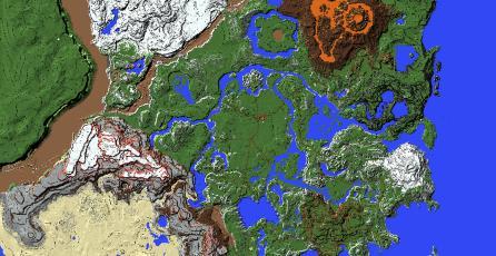 ¡Increíble! Fanático recrea el mapa de <em>Zelda: Breath of the Wild</em> en <em>Minecraft</em>