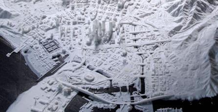 ¡Increíble! Imprimen en 3D todo el mapa de <em>GTA V</em> con lujo de detalles