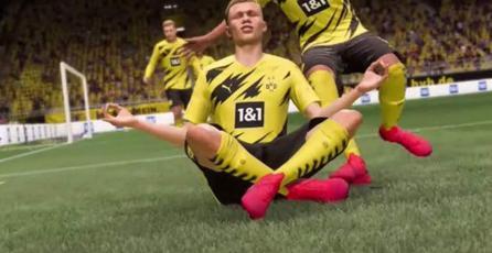 <em>FIFA 22</em> te dejará ocultar la celebración de tu rival cuando meta un gol