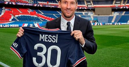 La Ligue 1 festejó la llegada de Messi al PSG al estilo de <em>Mario Bros.</em>