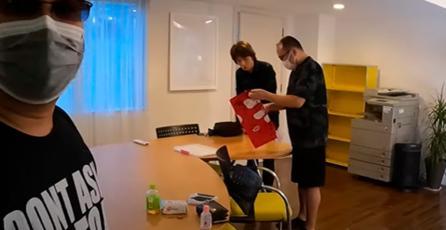 Sakurai aceptó visitar el programa de Katsuhiro Harada, director de <em>Tekken</em>