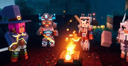 Podrás jugar gratis <em>Minecraft Dungeons</em> en Switch si cumples esta condición