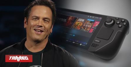 Phil Spencer probó Steam Deck y asegura que corre bien juegos de Xbox