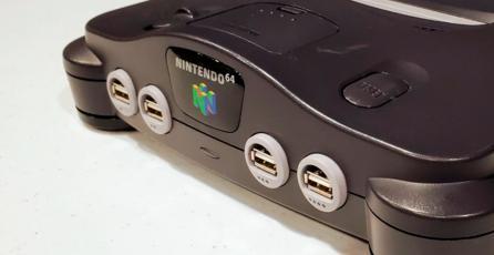 Convierten un Nintendo 64 en una versión del Switch completamente funcional