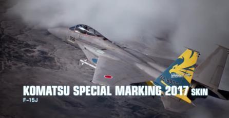 """ACE COMBAT 7 - Tráiler DLC """"Japan Air Self Defense Force"""""""