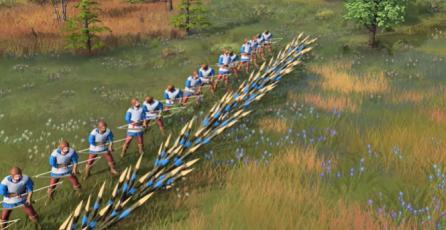 "Age of Empires IV - Tráiler de Armas ""Palings"""