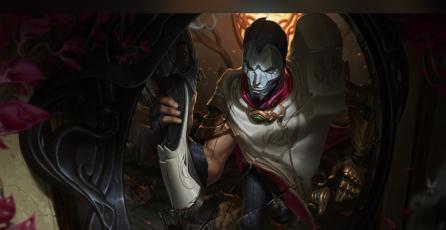 <em>League of Legends</em>: así luce Jhin sin máscara y es bellísimo