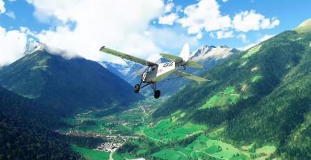<em>Flight Simulator</em> recibirá más regiones, aviones y carreras multiplayer