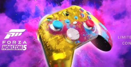 Xbox sacará un control edición especial para Series X de <em>Forza Horizon 5</em>