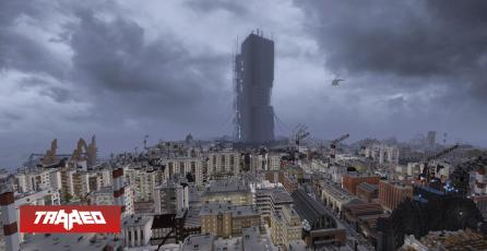 Half Life 2 es recreado en Minecraft por fanáticos tras 5 años de duro trabajo