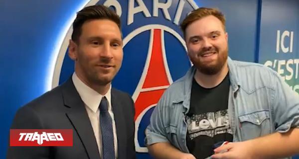 Ibai compró la transmisión del debut de Messi en el PSG y lo transmitirá en Twitch